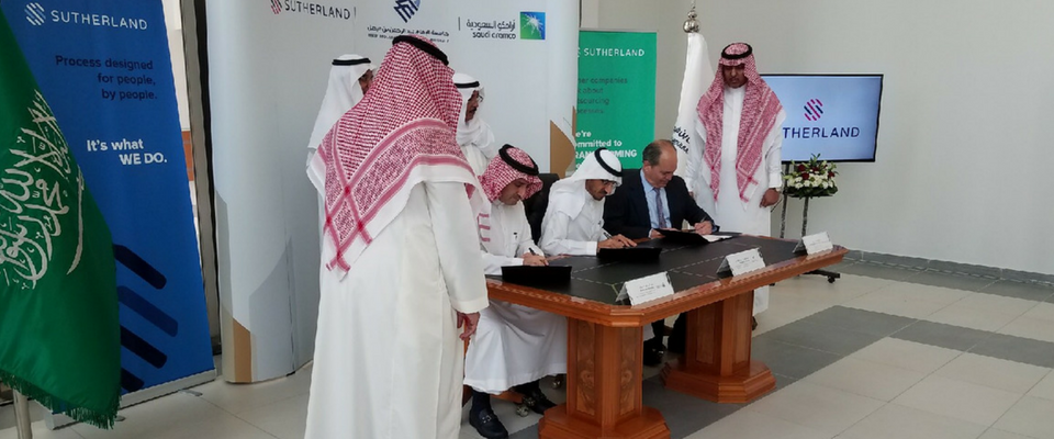 Saudi Aramco Partners with Sutherland and IAU on Social Development Program for Women in Saudi Arabia